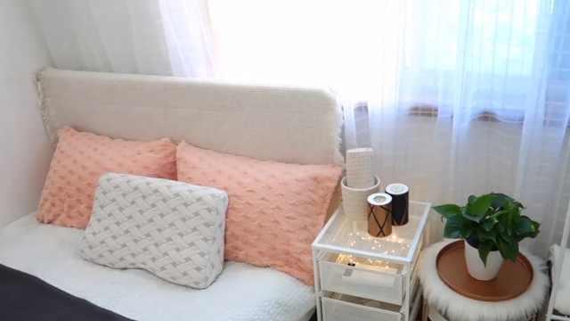 450元大改造老旧的出租房卧室
