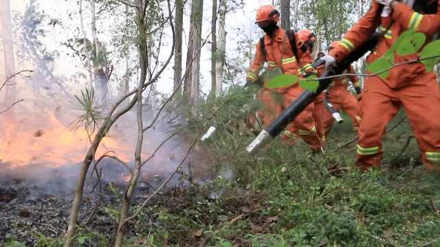 大兴安岭山火持续,2千增援在路上