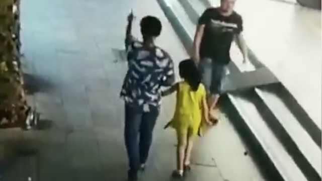 6岁女童被陌生男子带走,幸亏遇到她