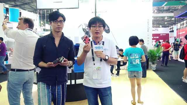 上海CESA展:全球最小的无人机