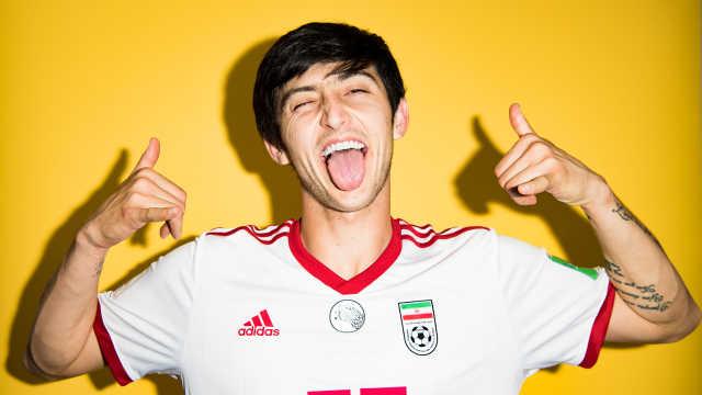 伊朗梅西:排球出身,一人身价超国足