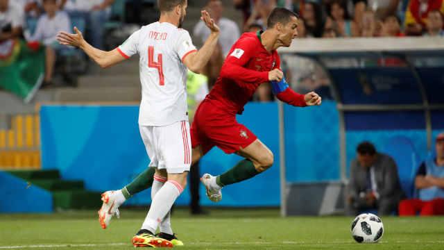 世界杯最快进球!2分钟C罗造点