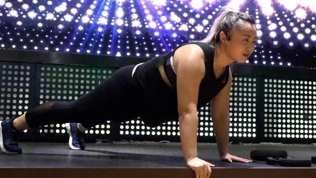 140斤女孩做健身教练,曾被投诉胖