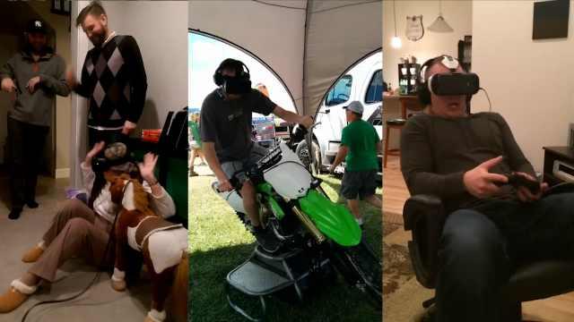 VR体验到底多真实,他们会告诉你