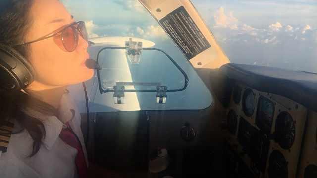 女律师环球飞行,老板特批2个月长假