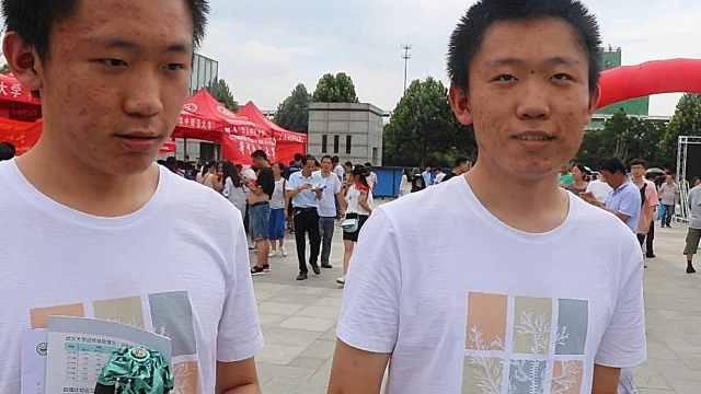 双胞胎兄弟同高考,超一本线160分