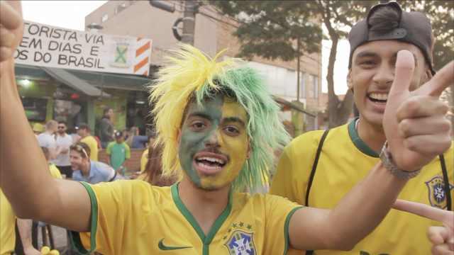 对战墨西哥,球迷:巴西7比1赢定了