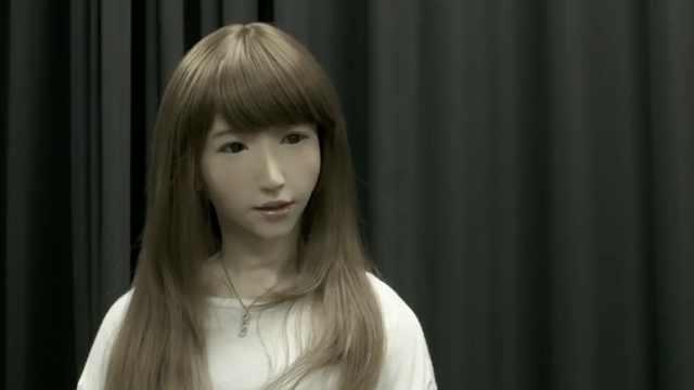 日科学家要让美女机器人有自主意识