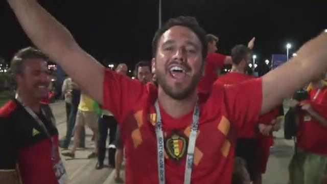 比利时球迷:老婆对不起我不回去了