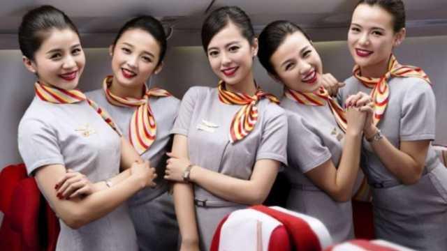 飞机上的空姐一个月能挣多少钱?