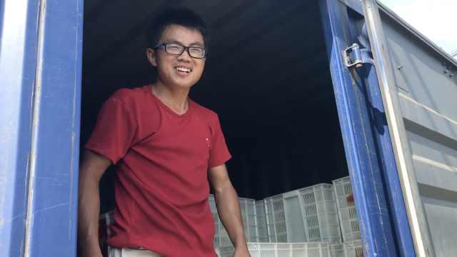 他回乡租60亩地种丝瓜,曾滞销3万斤