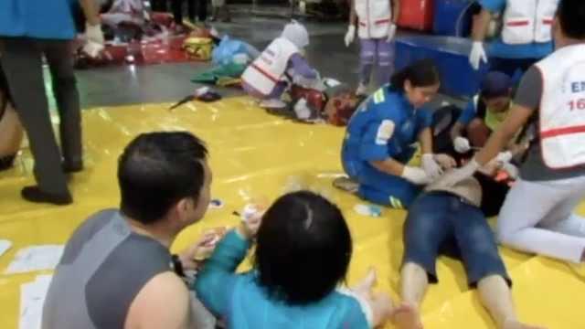 泰媒:普吉岛沉船事故已致40人遇难