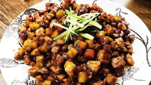 酱爆肉丁,家常菜里最下饭的一道菜
