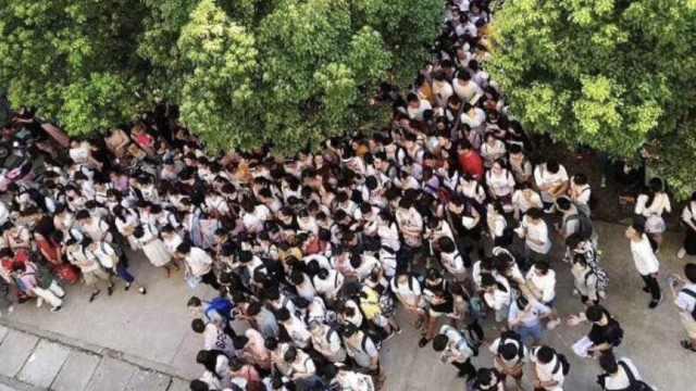 千名考研学生抢座:空调自习室仅1间