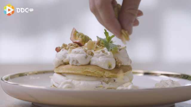 风靡ins的百香果奶油舒芙蕾松饼