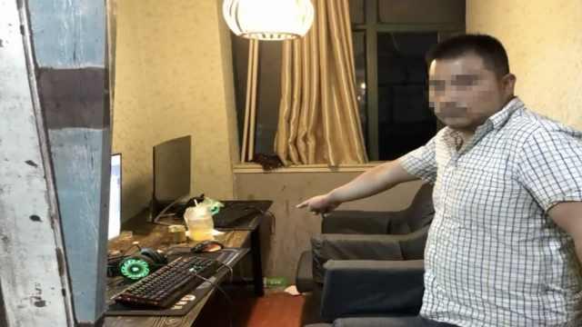男子网吧偷手机,民警看监控:老熟人