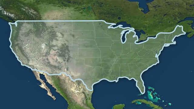 美国地理有哪些奇特的地方?