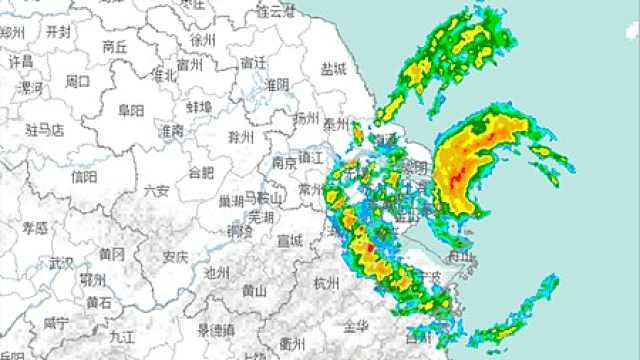 69年第7次!台风刚刚登陆上海