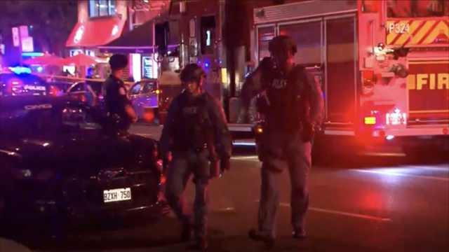 多伦多枪击案,9人中弹枪手被击毙
