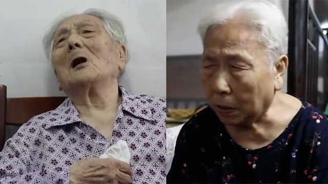 9旬慰安妇受害姐妹站出来控诉日军