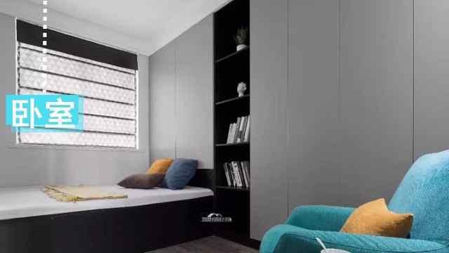 高颜值,北欧风卧室装修设计!