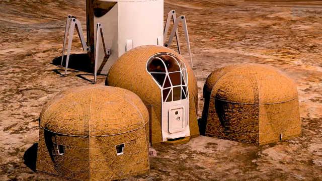 美国拟定火星基地建设方案:3D打印