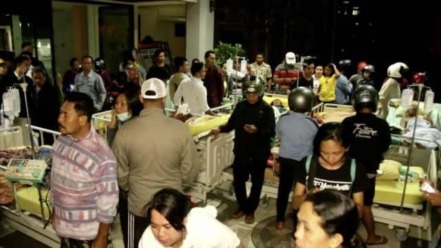 印尼龙目岛大地震:巴厘岛也受影响