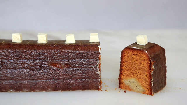 焦糖香蕉磅蛋糕
