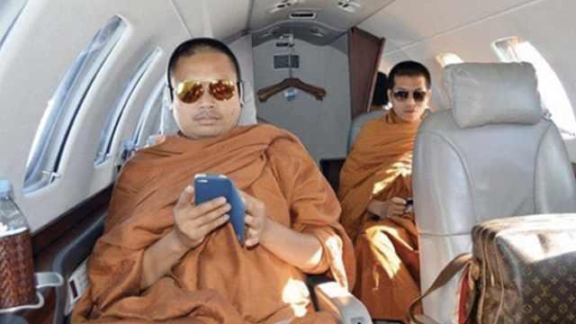 泰国炫富僧侣因诈骗洗钱被判114年
