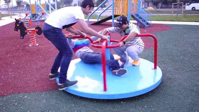 土耳其的广场,游乐设施堪比游乐园
