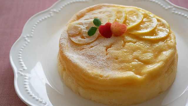 酸甜松软的柠檬蛋奶酥芝士蛋糕
