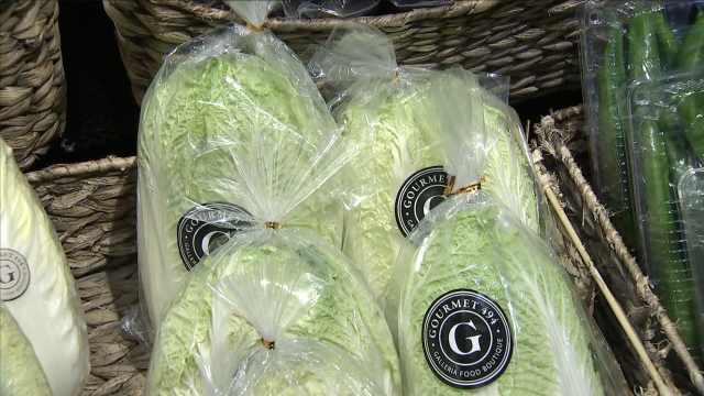 韩国高温白菜涨价,影响泡菜产量