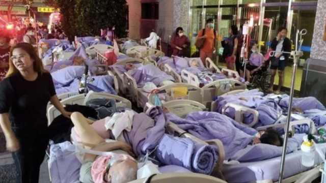 台北医院凌晨起火,已致9人死亡