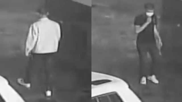 男子半夜连偷2酒店,发现监控还换装