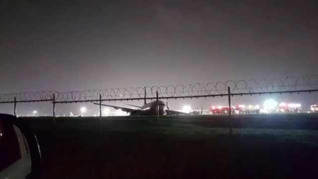 厦航航班冲出跑道,乘客:以为死定了