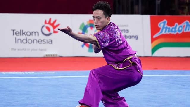 连续五届!中国夺得亚运会首金