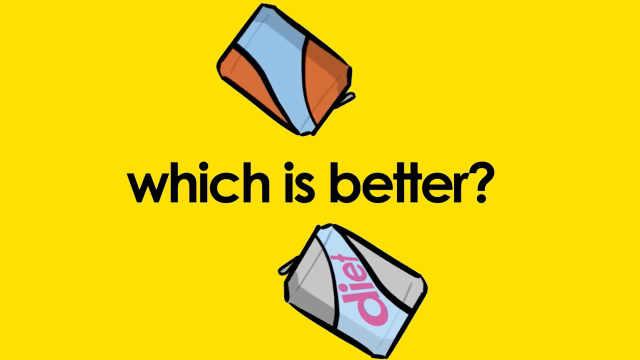 普通汽水or无糖汽水?该如何选?