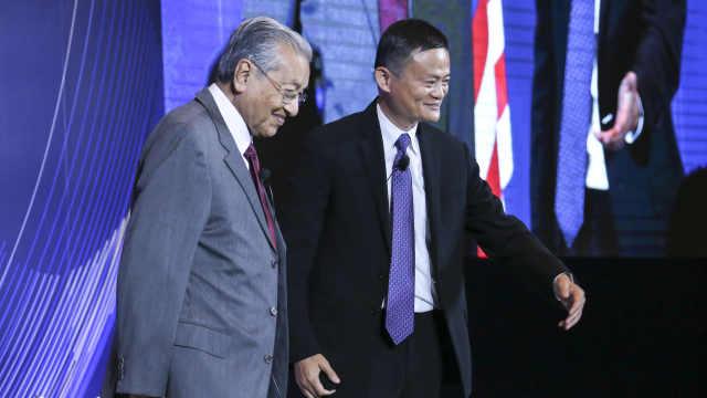 马云:中国中等收入人群正迈向5亿