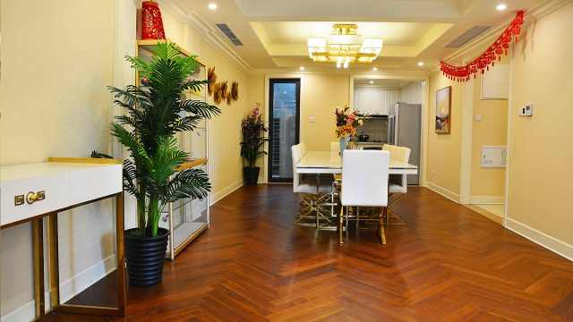 客厅小餐厅大的设计,你会喜欢吗?