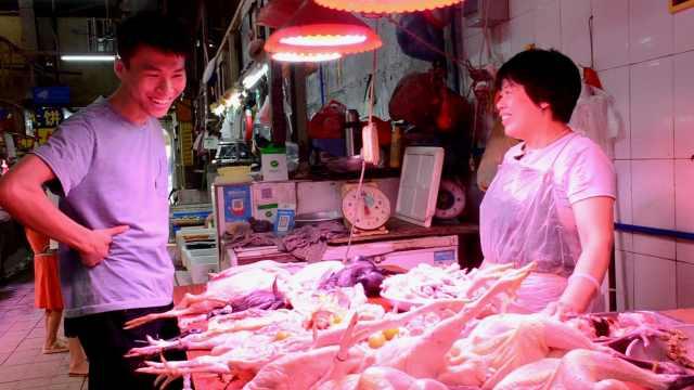 研究生课程设在菜市场:摊贩是主角
