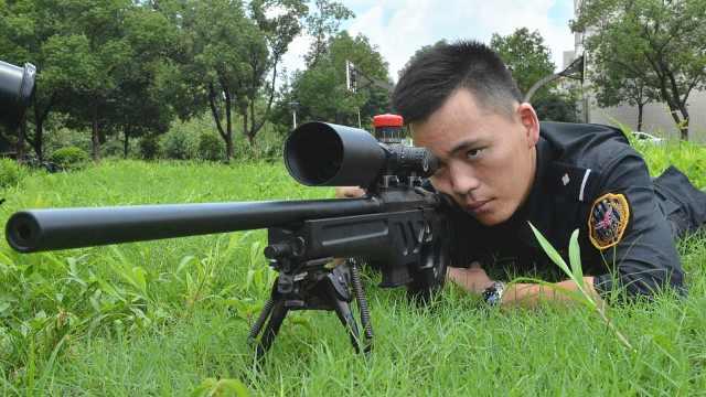 嘉兴90后特警获全球狙击单项冠军