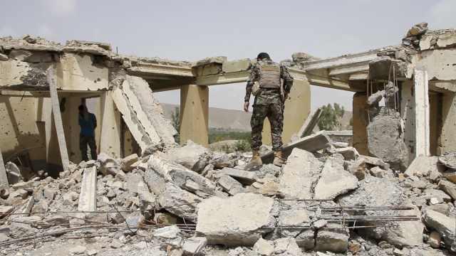 阿富汗IS基地被毁,分支头目被炸死