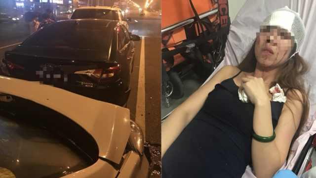女模特乘快车遇车祸毁容,滴滴让等