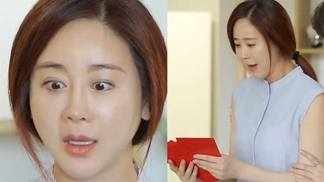韩女星回中国婆家,满屋亲戚送红包