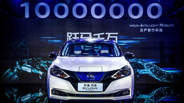 东风日产第1000万辆车竟然是它