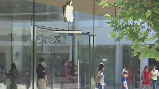 苹果店又遭抢劫,20秒损失3万美元