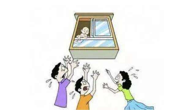 为找妈,5岁男孩翻出12楼阳台悬半空