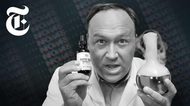 美国阴谋论大王卖保健品成千万富翁