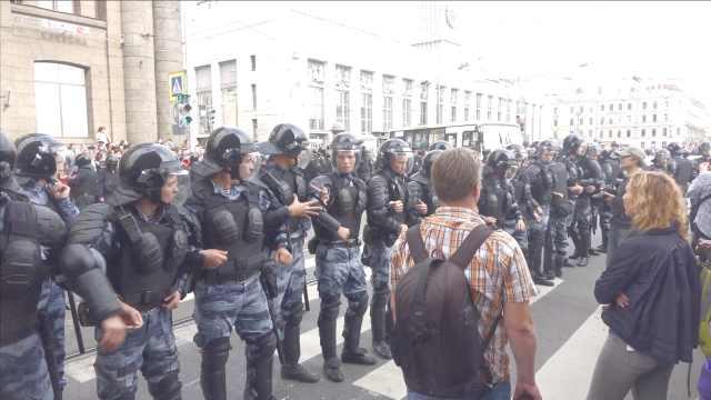 活不到退休?俄民众抗议延迟退休