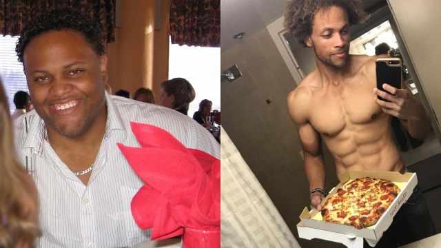 胖子福音!他吃垃圾食品两年减80kg